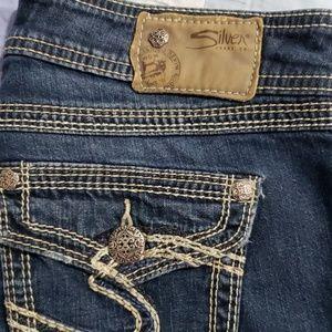 GUC Silver Jeans Capri